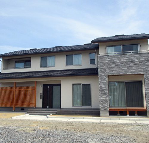 二世帯住宅完成!